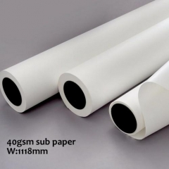 40gsm 1118mm Low weight Quick Dry Sublimation Pape