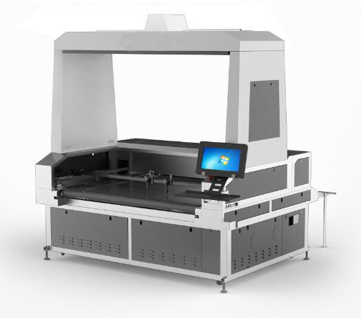 Laser cutter 1.6x1m for sublimation transfer printing fabirc