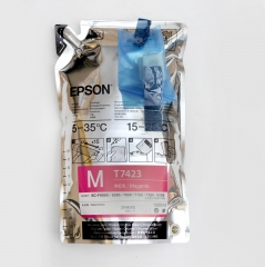 Epson original sublimation ink Magenta with chips