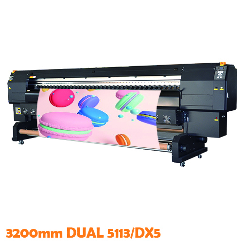 3.2m Dual DX5 Sublimation Printer