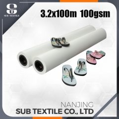 100gsm 2500mm High Speed Printing Sublimation Paper for advertisement