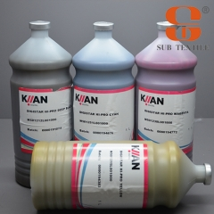 Hot sale kiian E-GOLD transfer sublimation ink price for brother printer