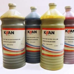KIIAN Digistar E-GOLD C.M.Y.K 4 Color sublimation ink Factory Direct Sale with chips
