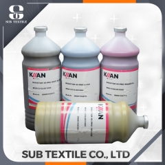 Italy Kiian Digistar E-GOLD dye sublimation ink for KIIAN E-GOLD Sublimation Ink FOR KYOCERA HEADS / MSJP4/JP7 /EFI textile printing sale online