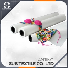 1.6m 100gsm good quality high sticky tack sublimation transfer paper roll for polyester fabric