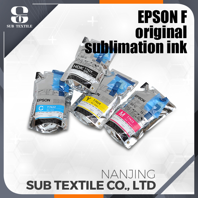 Epson Printer Ink C.M.Y.HDK compatible sublimation inkfor Epson F6070/6080/6200/6270/6280/7100/7080/7200/9200/9270