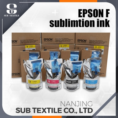 original sublimation ink Epson with chips Yellow color