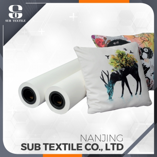 New 90gsm good quality roll fast dry sublimation paper for terylene