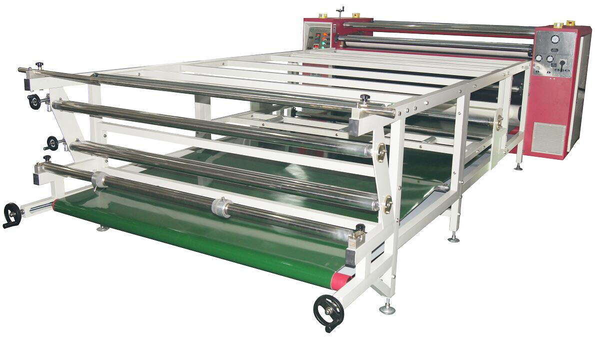 1 7m width 20mm drum diameter Rotary heat sublimation machine (High  Speed)--HR-26B-2