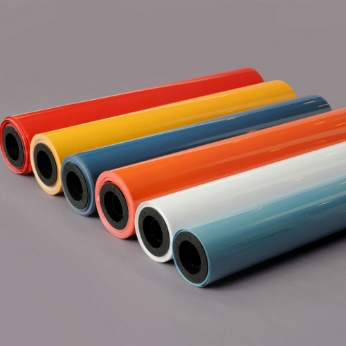 0.8m high Nylon 50 meter width 25 meter length Flock heat transfer vinyl