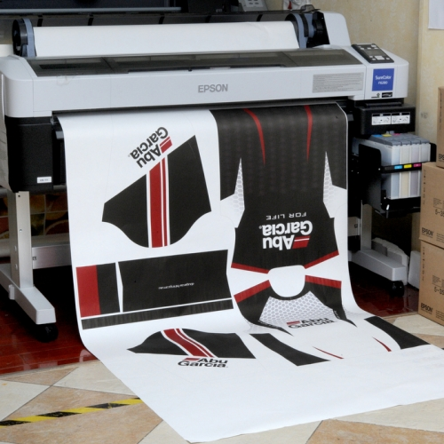 100gsm 44'' high sticky hanson sublimation transfer paper for sportswear