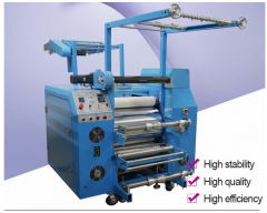 Lanyard Ribbon calender heat press machine