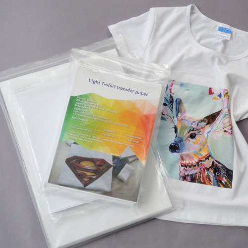 Laser T-shirt Transfer Paper for Light & Dark Garment