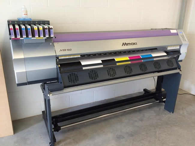 99% new Mimaki JV33-160 sublimation printers