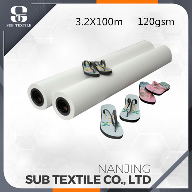120gsm Sublimation Paper 3.2m Width For Advertising Banner Or Display