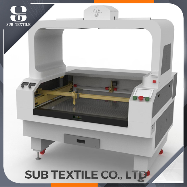 Single Head 1.6mX1.2m Laser Cutting Machine For Textile