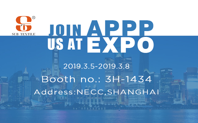 Subtextile Invited You To APPP EXpo