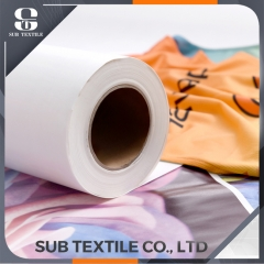 70gsm Tacky Quick Dry Sublimation Paper For Sportswear