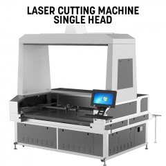 Vision Laser Cutter Single Head 1.8m width 3.2m length for sublimation transfer printing textile