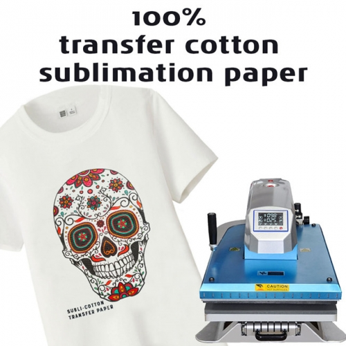New Arrival 2.0 Version Cotton Sublimation Paper Special For Pure Cotton Fabric, T shirt, Sportswear