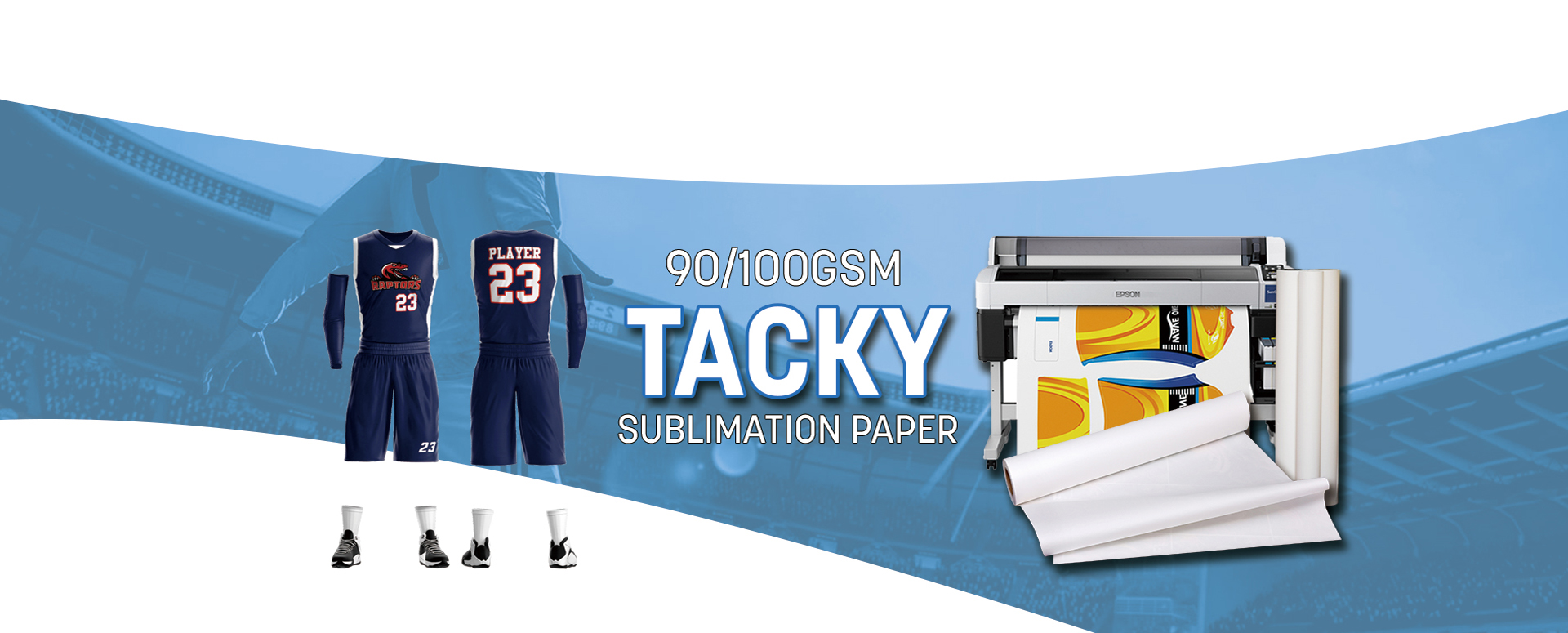 Tacky Sublimation Transfer Paper