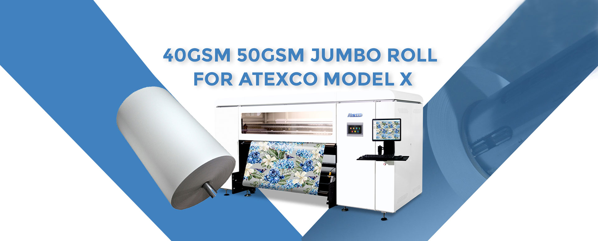 Jumbo Roll Sublimation Transfer Paper