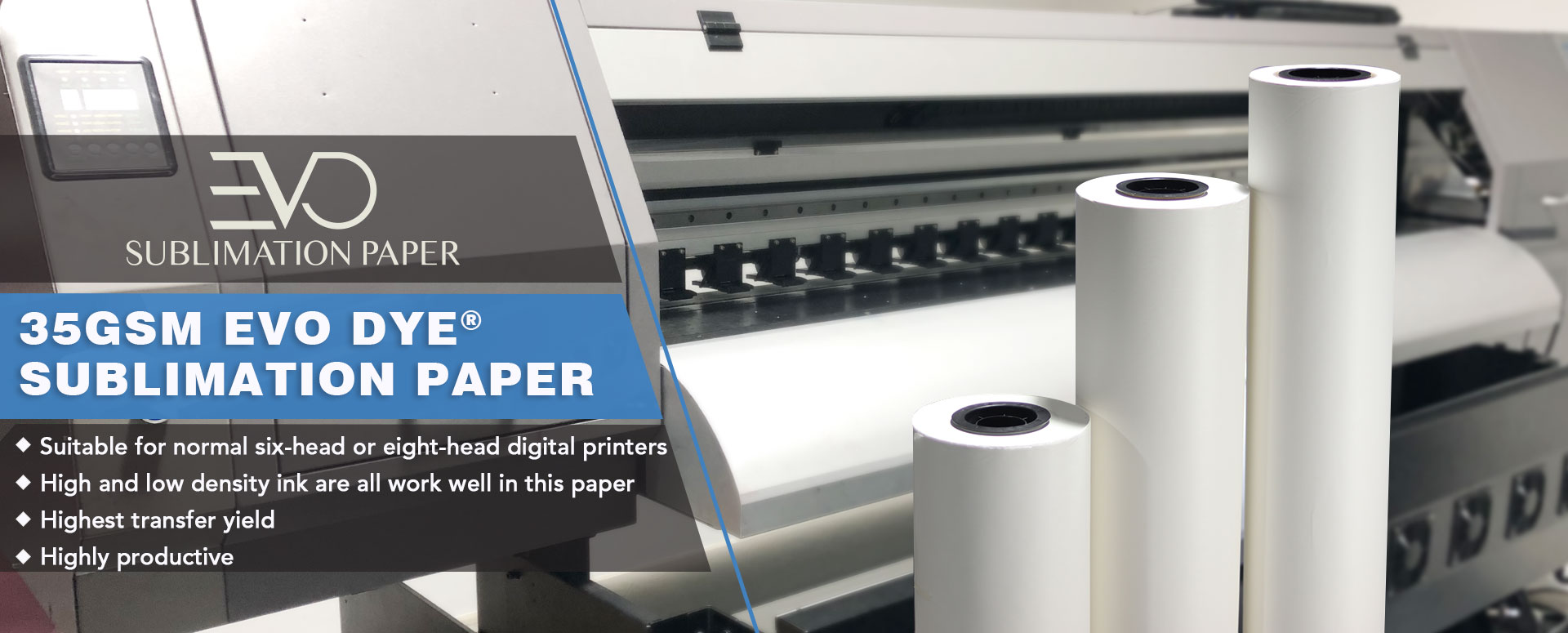 35gsm EVO Dye® Sublimation Paper