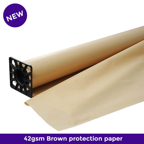 42gsm brown protection tissue paper rolls for sublimation